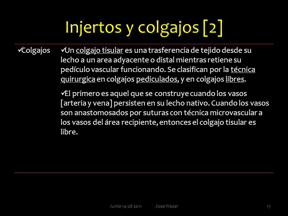 Injertos y colgajos [2] Colgajos